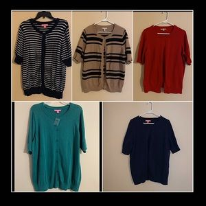 SS Cardigans!  Bundle & Save!  $20 each or 2/$35.